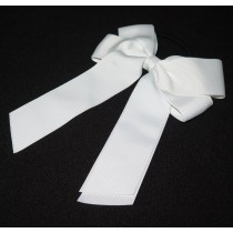 Cheer Bow White