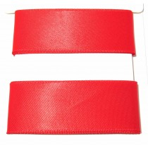 Satin Ribbon 2m Red