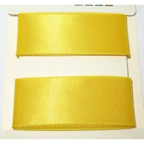 Satin Ribbon 2m Yellow