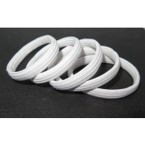Hair Tie Pack White