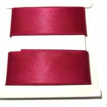 Satin Ribbon 2m Maroon