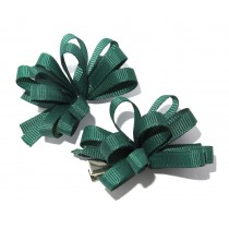 Korker Flower Clips Green