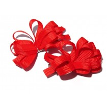 Korker Flower Clips Red