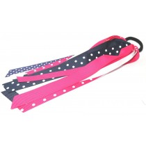 Pony Streamer Navy Pink