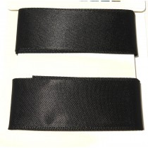 Satin Ribbon 2m Black