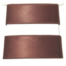 Satin Ribbon 2m Brown