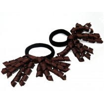 Korker Mini Ties Brown
