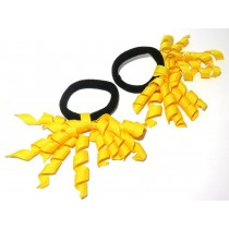 Korker Mini Ties Yellow
