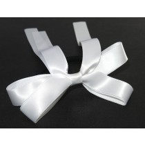 Sports Bow Tie White
