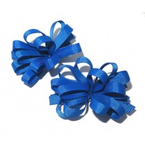 Korker Flower Clips Royal Blue