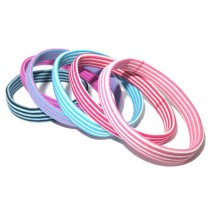 Hair Tie Pack Col Stripe