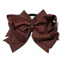 XL Grosgrain Bow Tie Brown