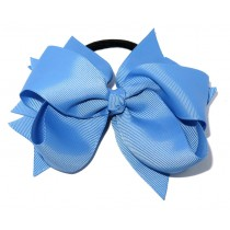 XL Grosgrain Bow Tie Sky Blue