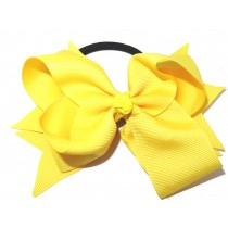 XL Grosgrain Bow Tie Yellow