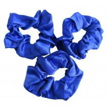 Scrunchie 3 Pack Royal Blue