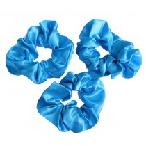 Scrunchie 3 Pack Sky Blue