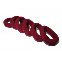 Mini Soft Tie Pack Maroon