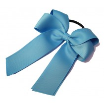 Cheer Bow Sky Blue