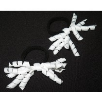 Korker Mini Ties White