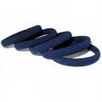 Hair Tie Pack Navy Blue