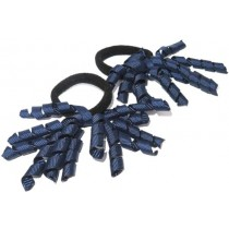 Korker Mini Ties Navy Blue