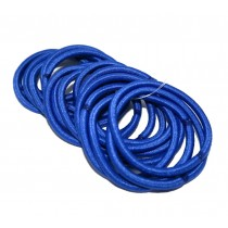 Thin Hair Tie 20 Pack Royal Blue