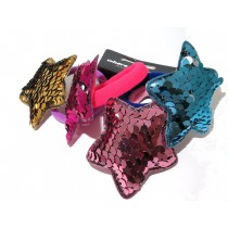 Sequin Star Tie 4 Pack