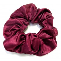 School Scrunchie Maroon Large