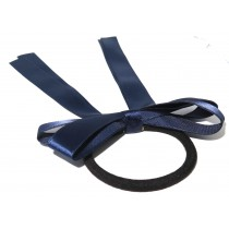 Sports Bow Tie Navy Blue