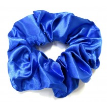 School Scrunchie Royal Blue Large