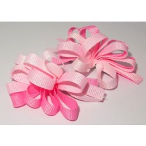Korker Flower Clips Pinks