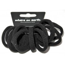 Mini Soft Ties Black