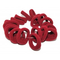 Mini Soft Tie Maroon 20 Pack