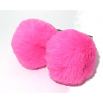 Pom Pair Soft Tie Mix