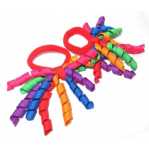Korker Mini Ties Rainbow
