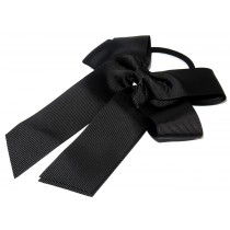 Cheer Bow Black