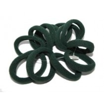 Mini Soft Tie 12 Pack Green