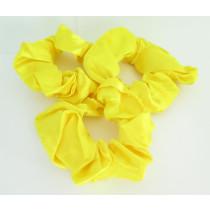 Scrunchie 3 Pack Yellow