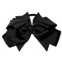 XL Grosgrain Bow Tie Black