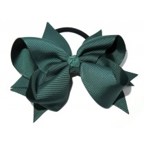 XL Grosgrain Bow Tie Green