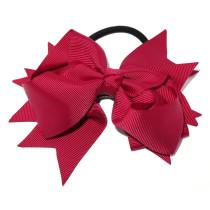 XL Grosgrain Bow Tie Maroon