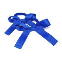 Pony Bows Royal Blue