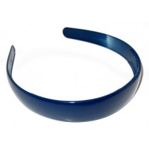 School Hair Band 2.5 Navy Blue