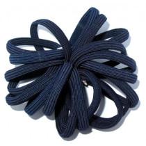 New Flat Tie Blue Navy