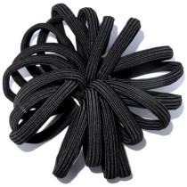 New Flat Tie Black