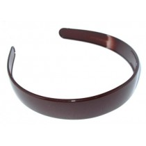School Hair Band 2.5 Brown