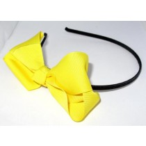 Grosgrain Bow HB Yellow