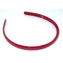 School Hairband 1cm Maroon