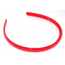 School Hairband 1cm Red