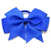 Large Grosgrain Bow Royal Blue